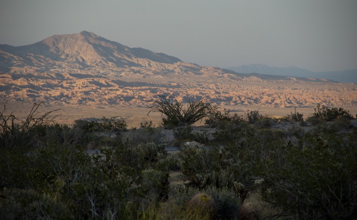 Desert mountain at Anza Borrego Desert