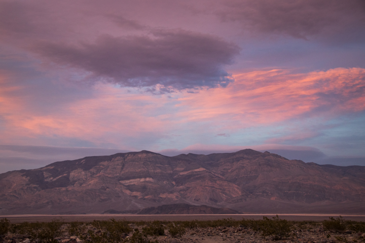 Sunset overlooking Death Valley - SKU: CA_DV_0070